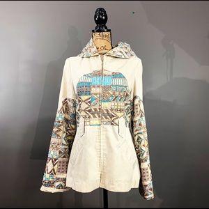 Bohemian 70s Vintage Mod-Maid Jacket |